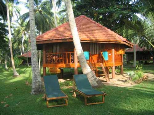 Holzcabana in Tangalle